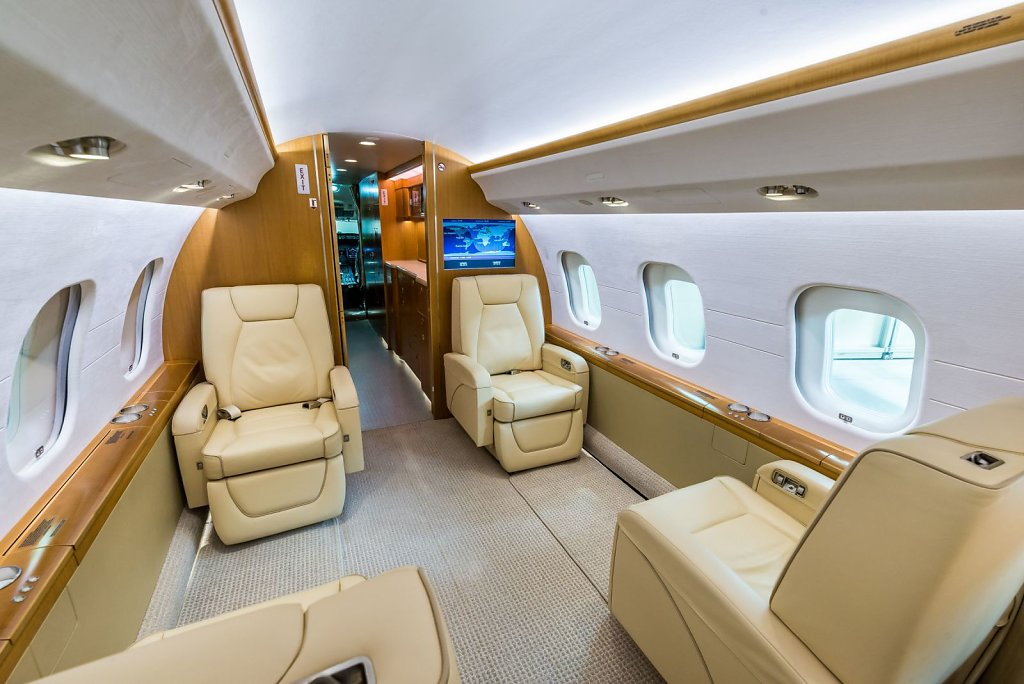 Интерьер Bombardier Global Express