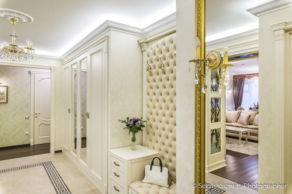 Интерьер квартиры в ЖК Дубровская слобода