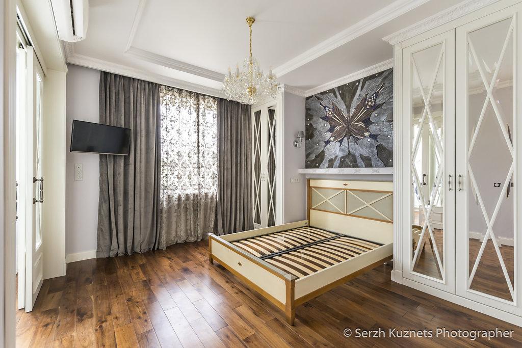 Интерьер квартиры в ЖК Суханово Парк