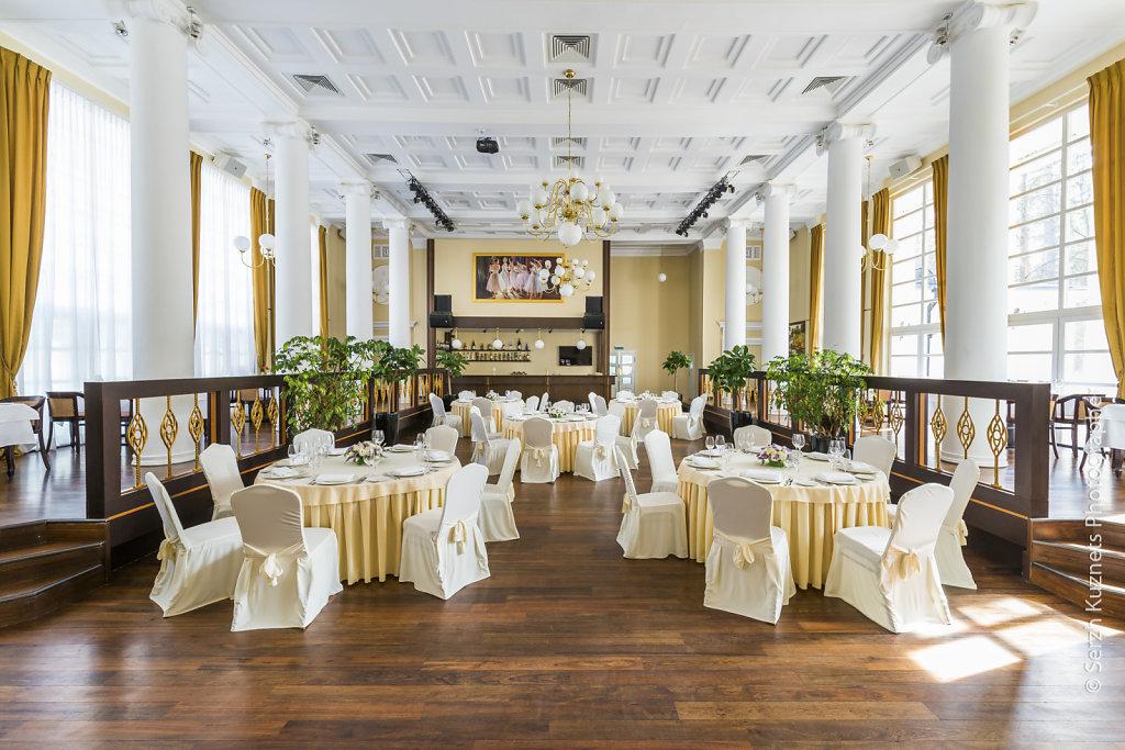 Интерьер ресторана Villa Politica