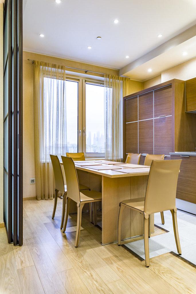 Фотосъёмка квартиры для продажи на на Мосфильмовской