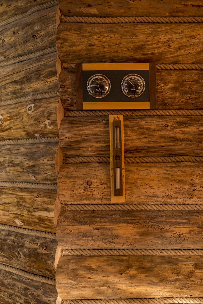 Фото сауны с сауны с электропечью EOS
