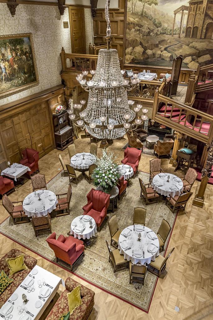 Фото интерьера ресторана в Центральном Доме Литератора